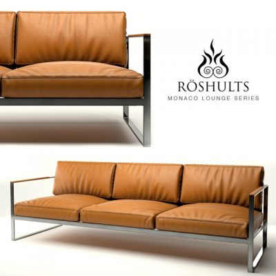 Roshults Monaco Sofa 3D Model