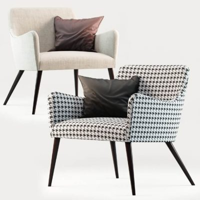 Roxy Armchair 3D Model