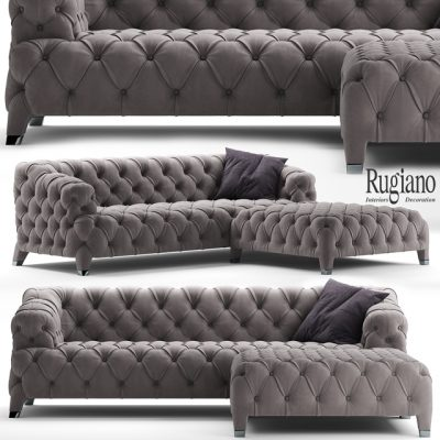 Rugiano Cloud Sofa 3D Model