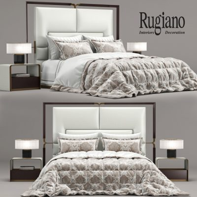 Rugiano Grace Bed 3D Model