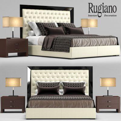 Rugiano Kenya Bed 3D Model
