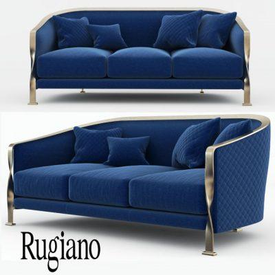 Rugiano Paris Sofa 3D Model