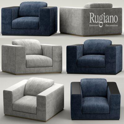 Rugiano Vogue Armchair 3D Model