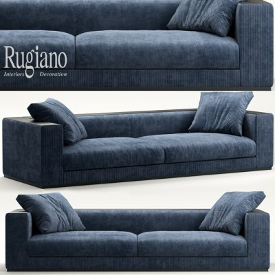 Rugiano Vogue Sofa 3D Model