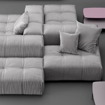 Saba Italia pixel Sofa 3d model