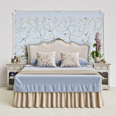 Salda 8512 Bedroom 3D Model