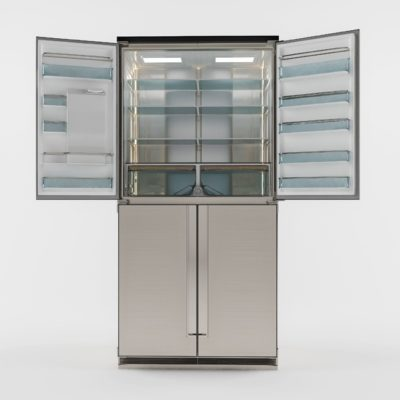 Samsung Smart Fridge 3D model