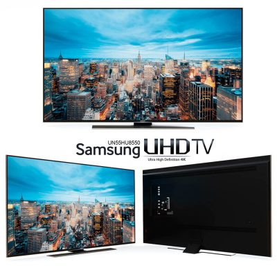 Samsung UHD TV 3D model (1)