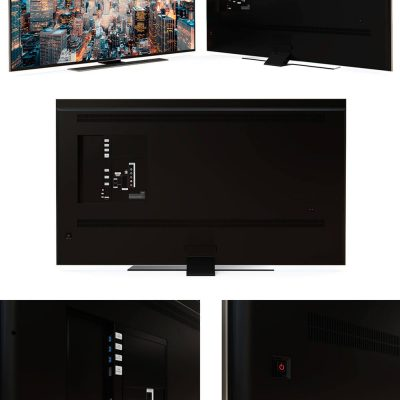Samsung UHD TV 3D model (2)