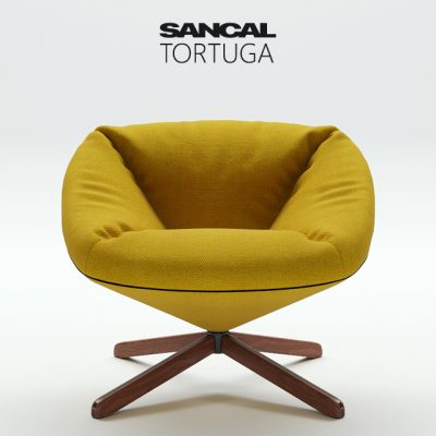 Sancal Tortuga Armchair 3D Model