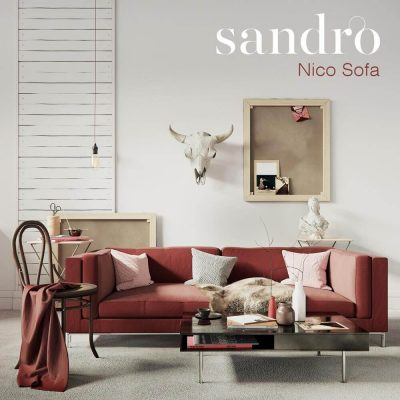 Sandro nico sofa 3D model