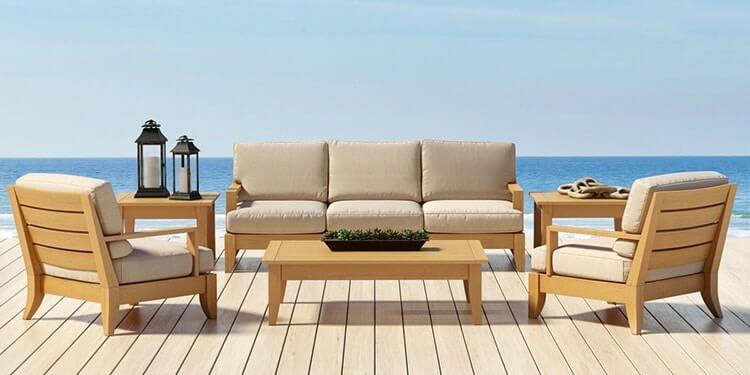 santa barbara collection outdoor furniture 3d model 1