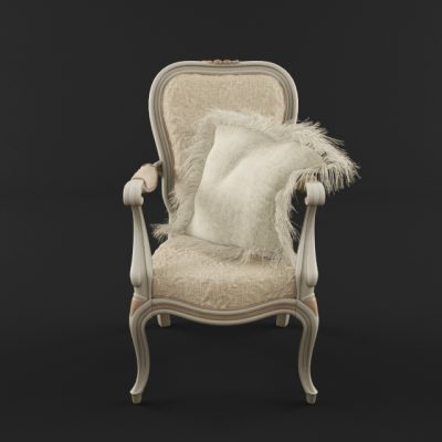 Savio Firmino 3009 Armchair 3D Model