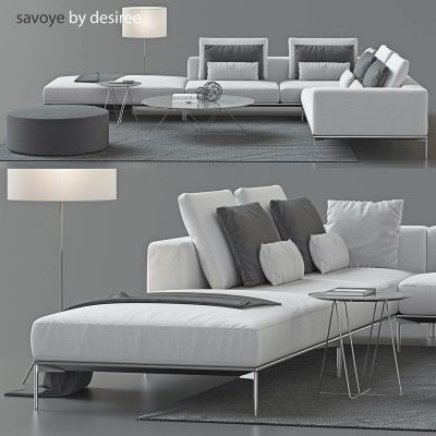 Savoye by Desiree Sofa 3D model (11)