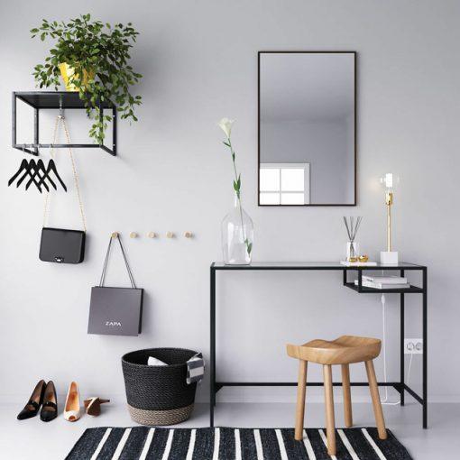 Scandinavian Table & Chair 3D Model