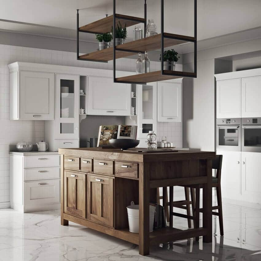 Kitchen Design 3d Model: Scavolini Kitchen 3D Model For Download