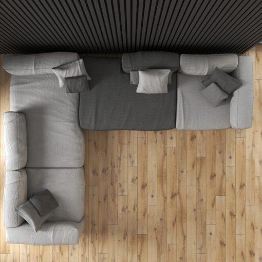 Scotch Big Sofa 3D Model 2