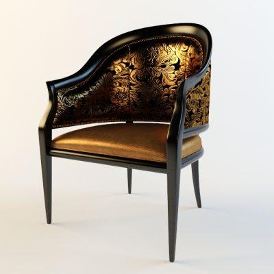 Sedi Tal Armchair 3D Model