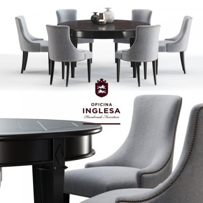 Sentosa & Fraser – Table & Chair 3D Model