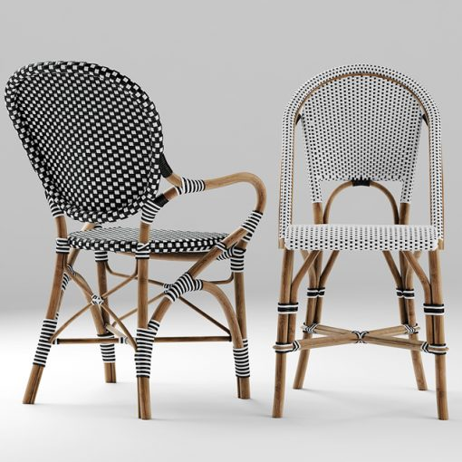 Serena And Lily Table & Chair 3D Model 2