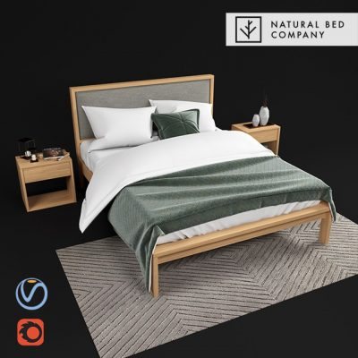 Shetland Bed 3D Model