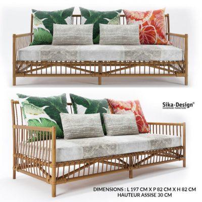 Sika Design Caroline Sofa 3D Model