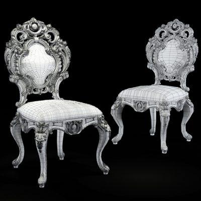 Silik Chair 3D Model