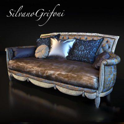 Silvano Grifon Sofa 3D Model