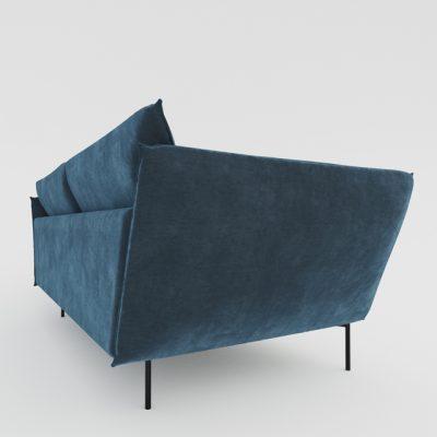 Sits Hugo Sofa 3D Model
