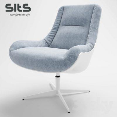 Sits Lovebird Armchair 3D Model