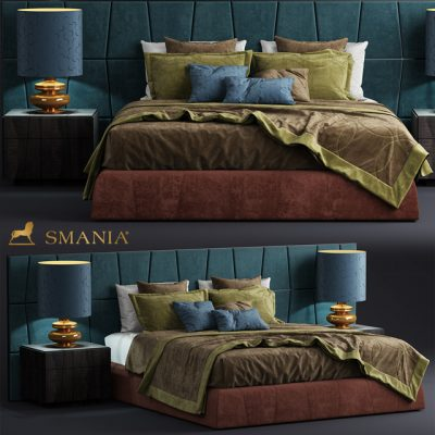 Smania Colorado Bed 3D Model