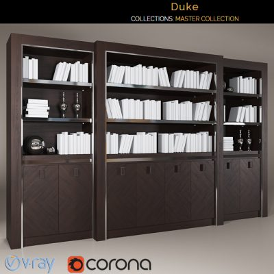 Smania Duke Bookshelf 3D Model