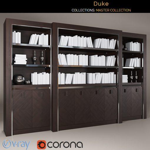 Smania Duke Bookshelf 3D Model