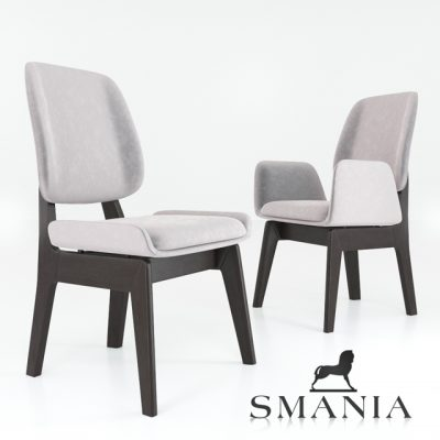 Smania Kate Chair 3D Model