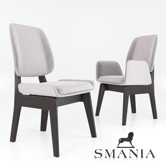 Smania Kate Chair 3D Model