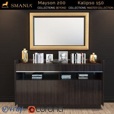 Smania Mayson 200 Sideboard 3D Model
