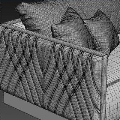 Smania Miami Sofa 3D Model