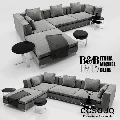 Sofa B&B ITALIA MICHEL 2