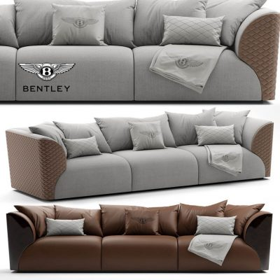 Sofa Bentley Home Winston Sofa 3D model (1)