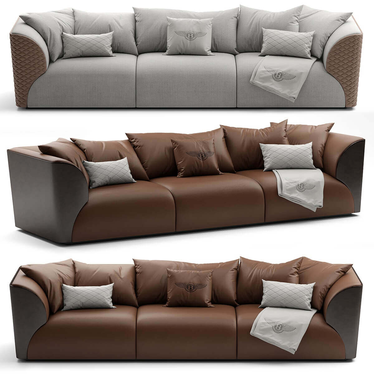Sofa Bentley Home Winston Model 2