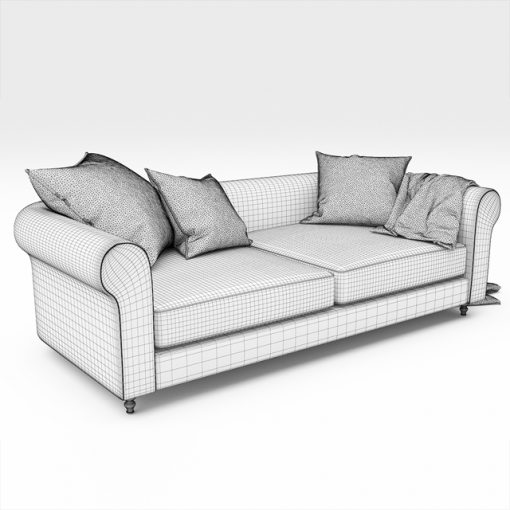 Sofa Collection-01 3D Model 3