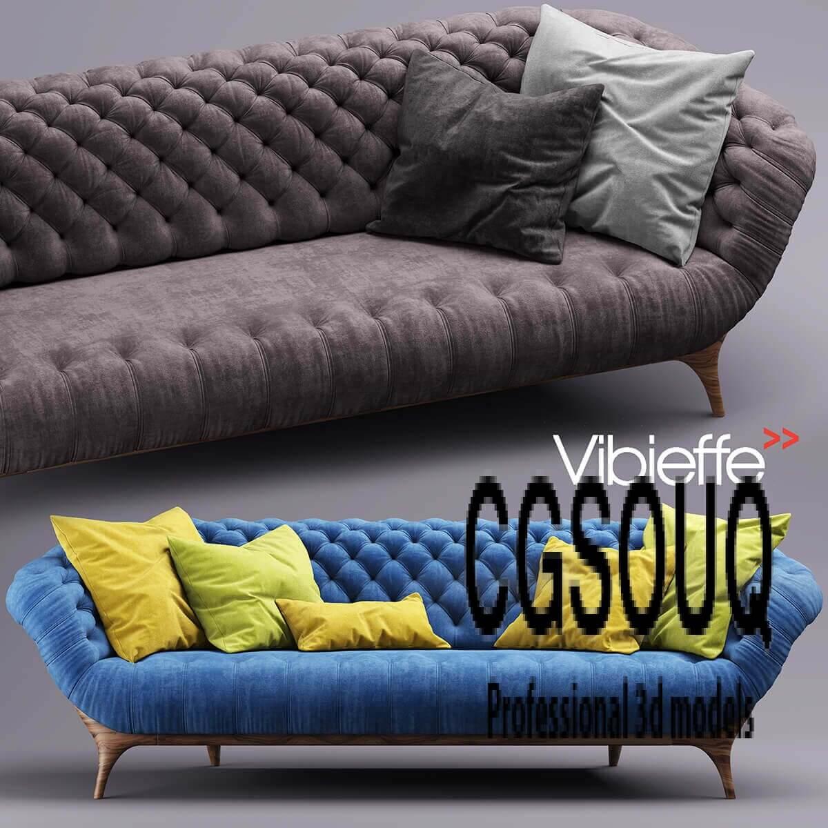 Sofa Vibieffe VICTOR Sofa 3D model