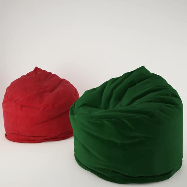 Super Soft Bean Bag 3D Model Pabps2019 Chair Design Images Pabps2019Com