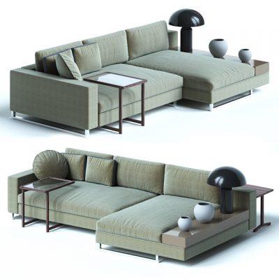 Sormani Sofa 3D Model