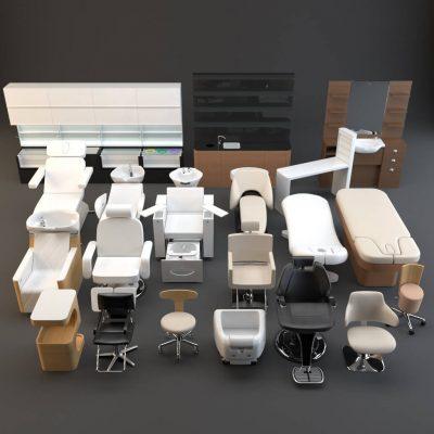 Spa Set 3D model