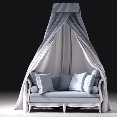 Squab Sofa 3D Model