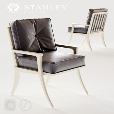 Stanley Furniture Crestaire Lena Accent Chair 3D Model
