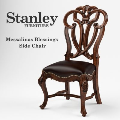 Stanley Furniture – Messalinas Blessings Side Chair 3D Model
