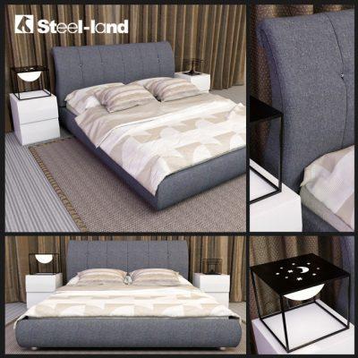 Steel-Land AP-P155 Bed 3D Model