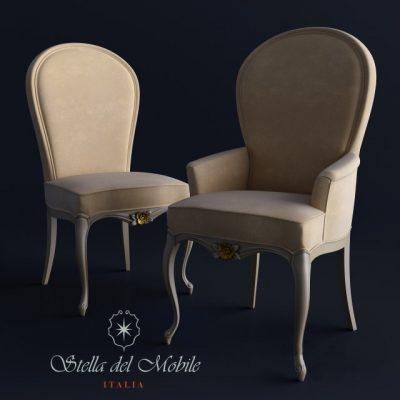 Stella del Mobile CR-61 Chair 3D Model